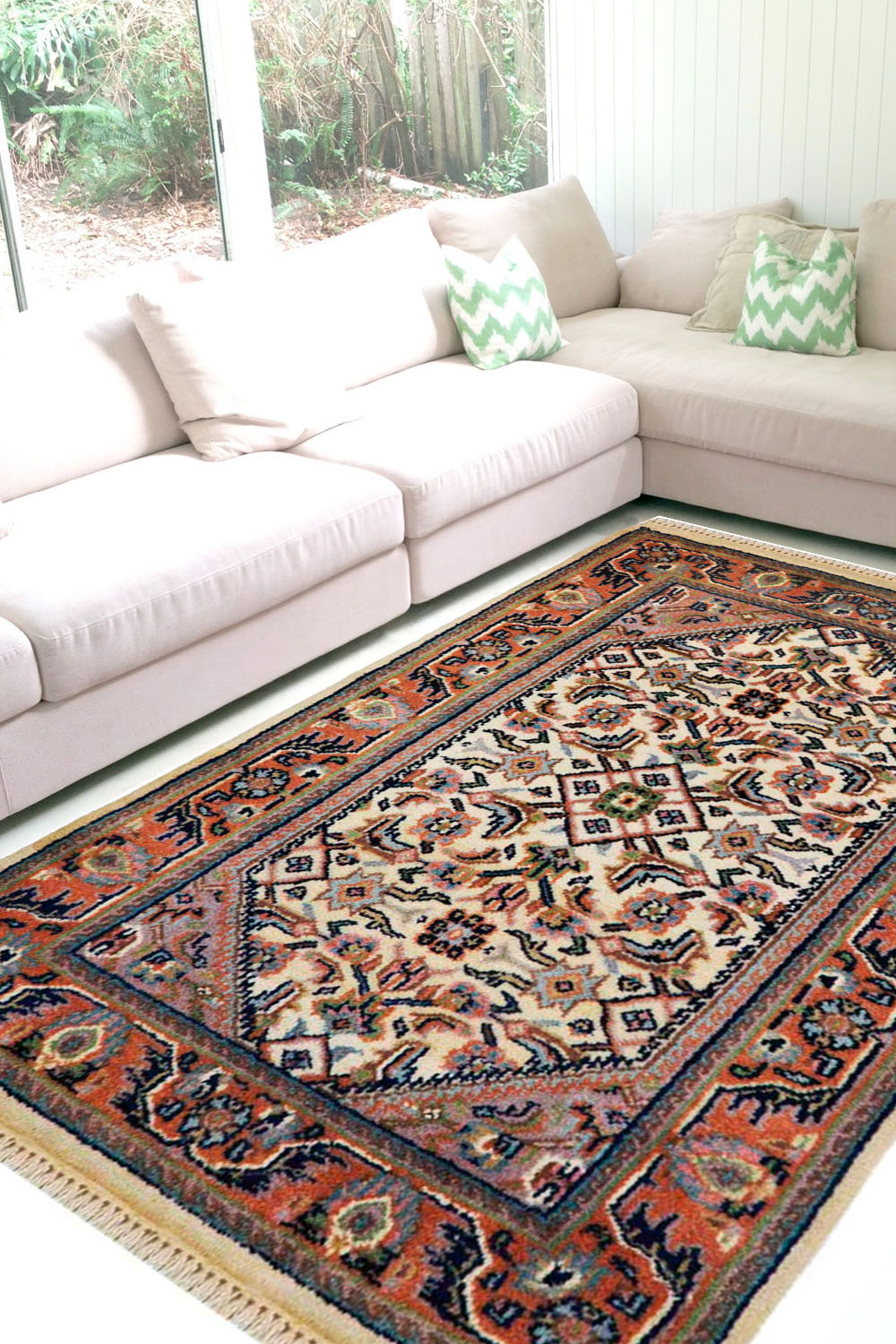 Shop Best Quality Bidjar Double Wool Rug Online At Great Price