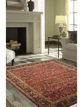 Heriz Traditional Wool Area Rug