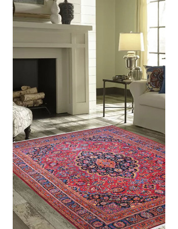 Cherry Blossom Kashan Handknotted Carpet