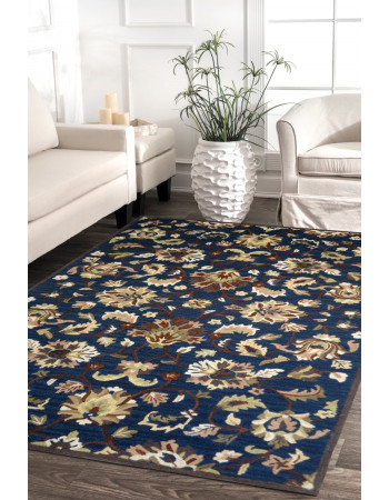 Jewel Blue Handtufted Modern Carpet