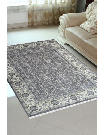Linear Interior Monochrome Rug