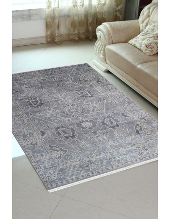 Baileys Gray Monochrome Area Rug