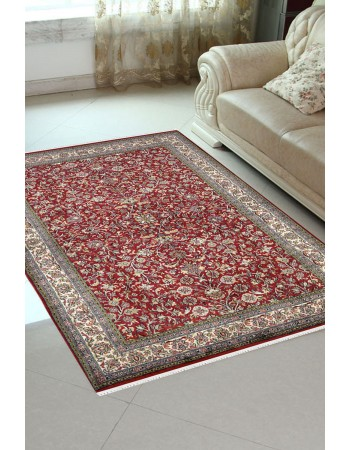 All Over Bagh Floral Silk Rug