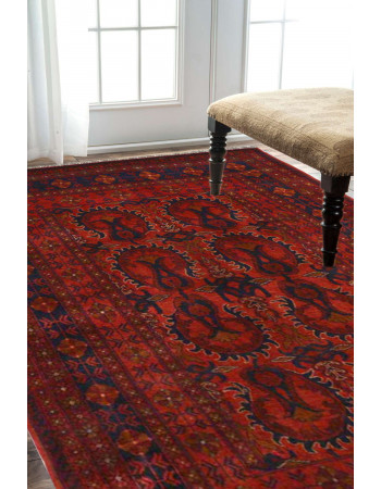 Caucasian Love Afghan Area Carpet