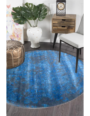 Full Blue Moon Pure New Zealand Wool Area Rug