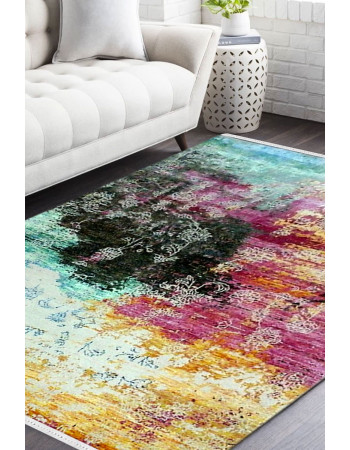 Festival Of Colors Modern Carpet