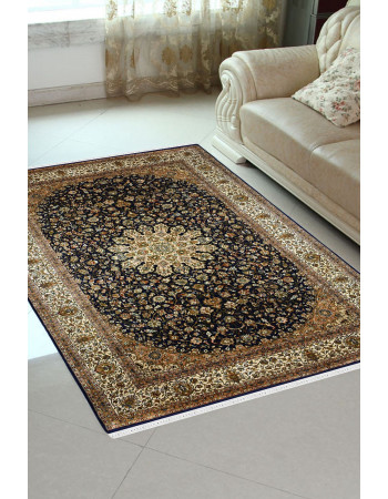 Golden Chakra Pure Silk Carpet