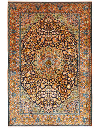 Nain Ardabil Silk Carpet
