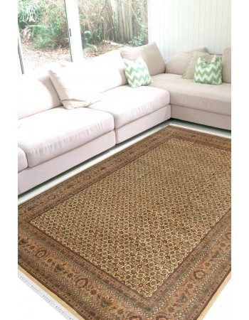 Beautiful Pale Bidjar Woolen Area Rug