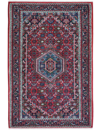 Bidjar Medallion Handknotted Traditional Rug