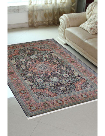 Jhoomar Pure Silk Kashmir Carpet
