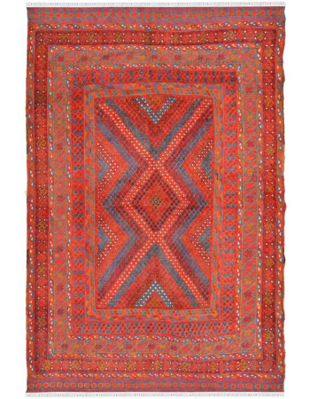 Barjesta Diamond Kilim Area Rug
