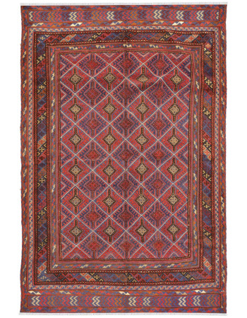 Piped Kilim Handmade Carpet