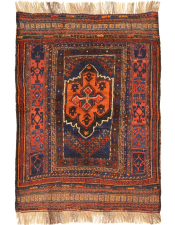 Orange Barjesta Kilim Carpet