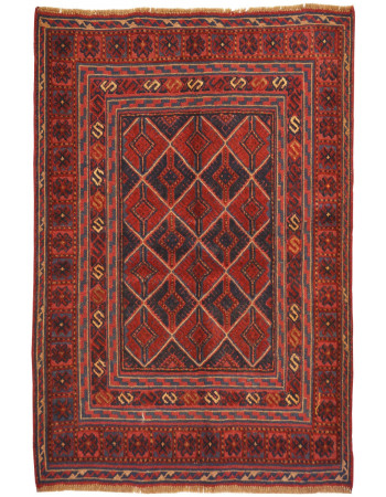 Goz Rustic Traditional Kilim Area Rug