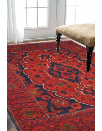 Royal Khan Afghan Area Rug
