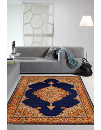Royale Neel Open Kashan Silk Area Rug
