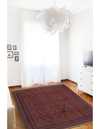 All Over Pattern Turkish Kilim Rug