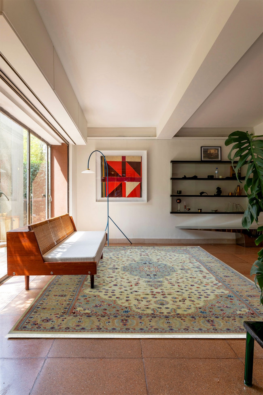 French Classic Cream Fine Carpet