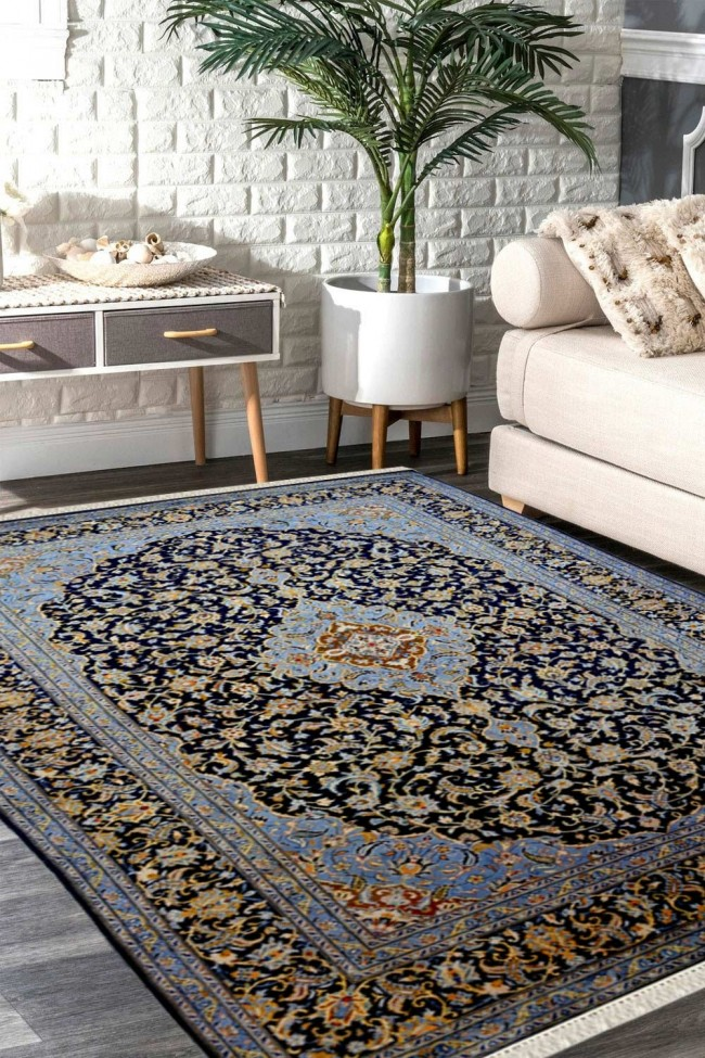 Neel Bagh Kashan Rug With Best Rugs