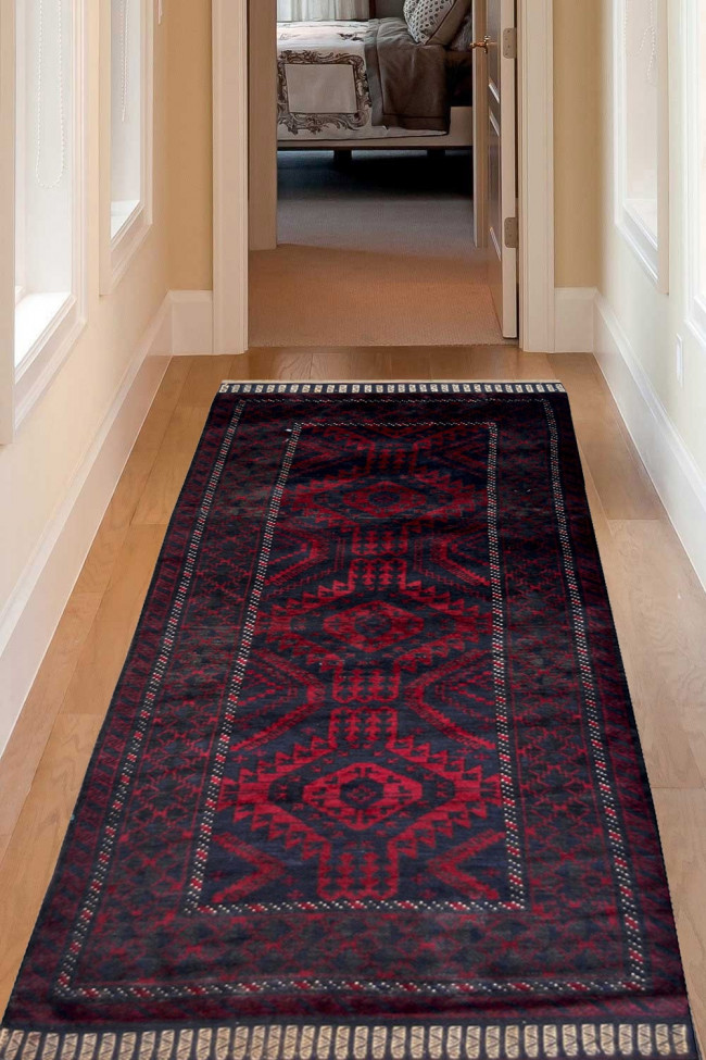 Turkish Caucasian Afghan Carpet