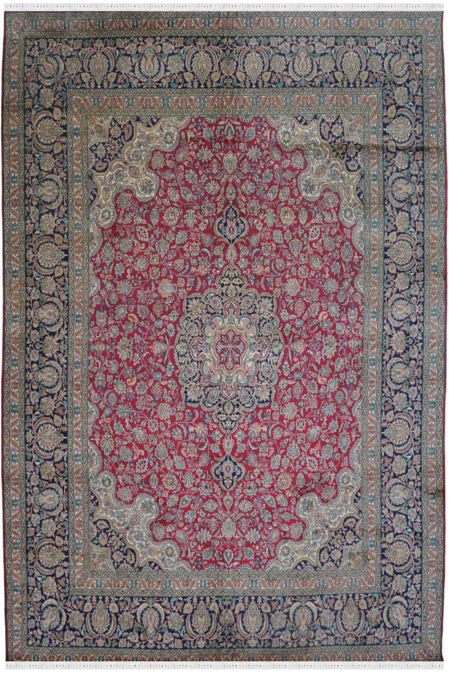 Rouge Russian Red Pure Silk Rug