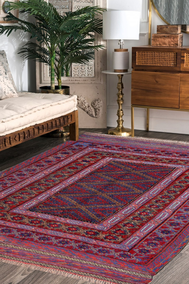 Diamond Series Kilim Area Rug