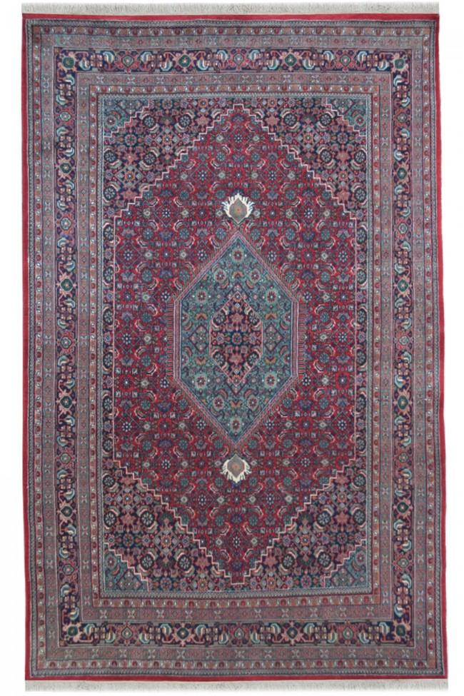 Mahi Bidjar Red Woolen Handmade Carpet