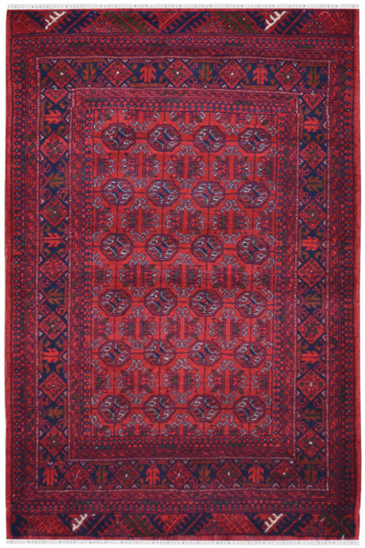 Bijlik Bokhara Afghan Traditional Carpet