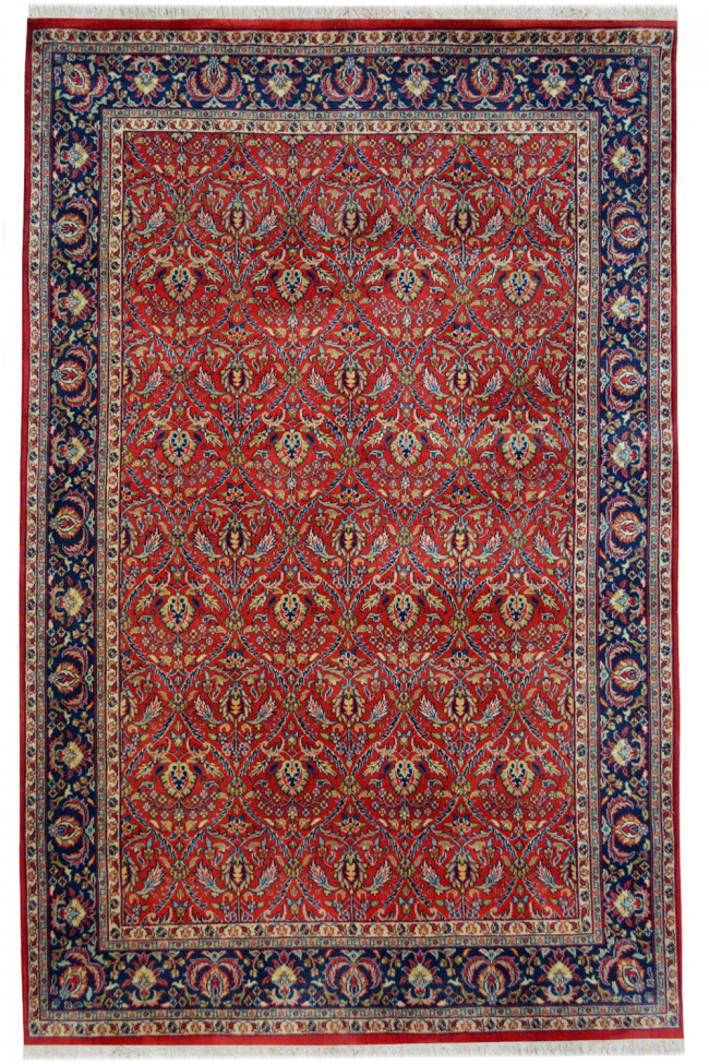 Multan Red fine Handknotted Large rug