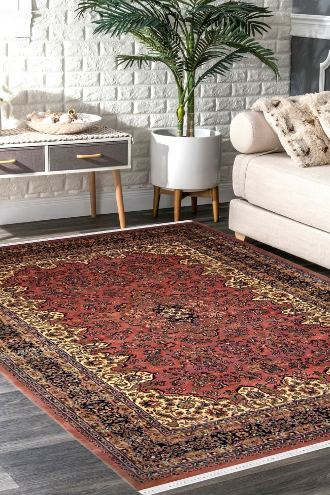 Floral Medallion Handmade Wool Carpet