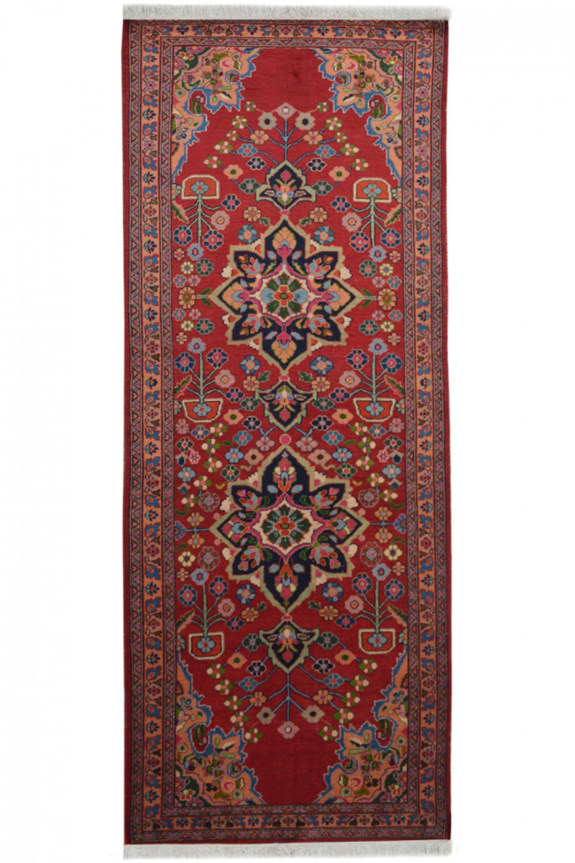 Red Iranian Passage Runner Carpet