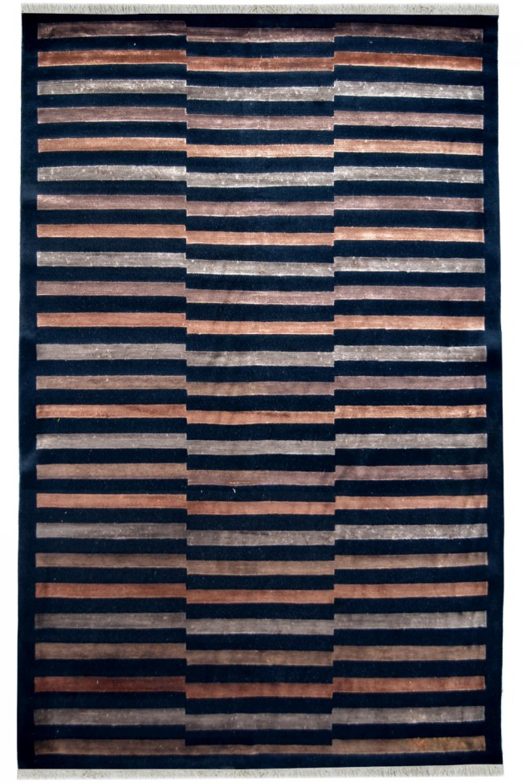 Pin striped Wall Modern Rug