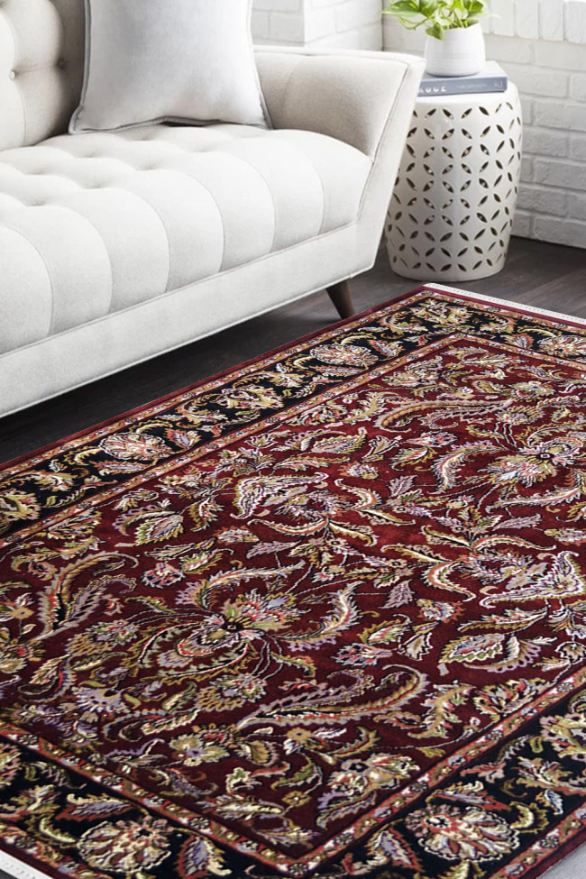 Buy Discount Rugs Online And Jewish Maroon Handknotted Oriental Wool Rug Rugs And Beyond
