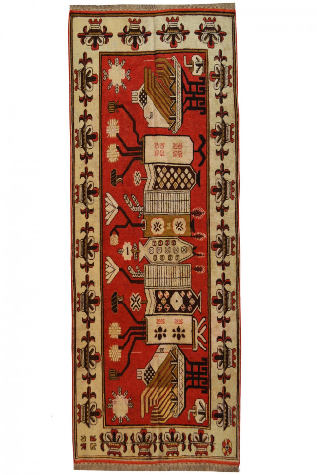 Cocuklu Kiz Beautiful Kilim Handmade Area Rug