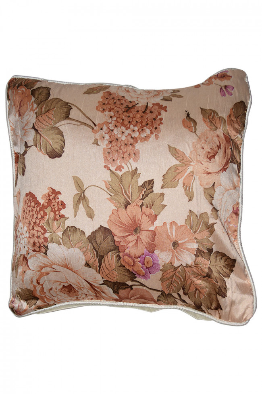 Floral Satin  Pillow
