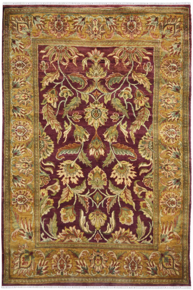 Gold Heriz Classic Wool Area Carpet