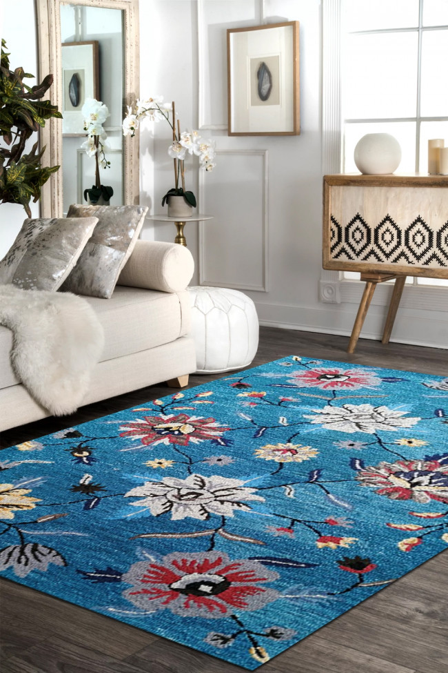Buy Perennial Skyu Hand Tufted Wool Carpet From Rugs And