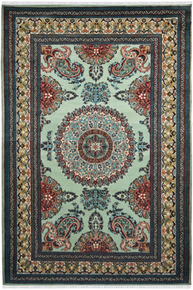 Pista Gumbh Traditional Wool Area Rug