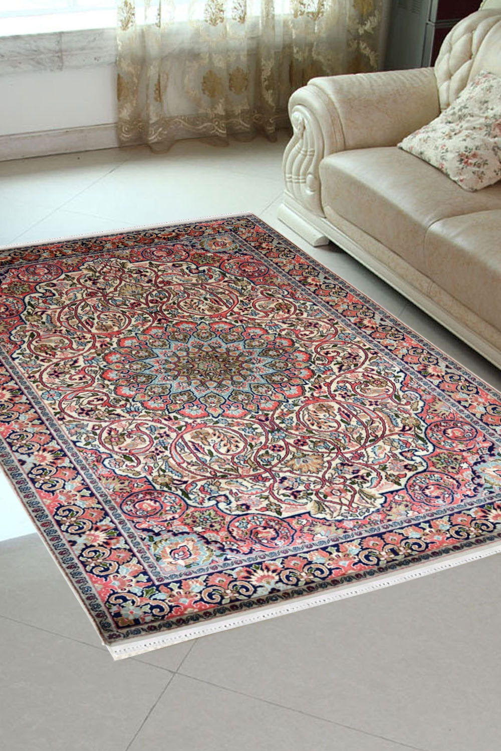 Shop Beautiful Persian Ardabil Handknotted Indian Silk Rugs And