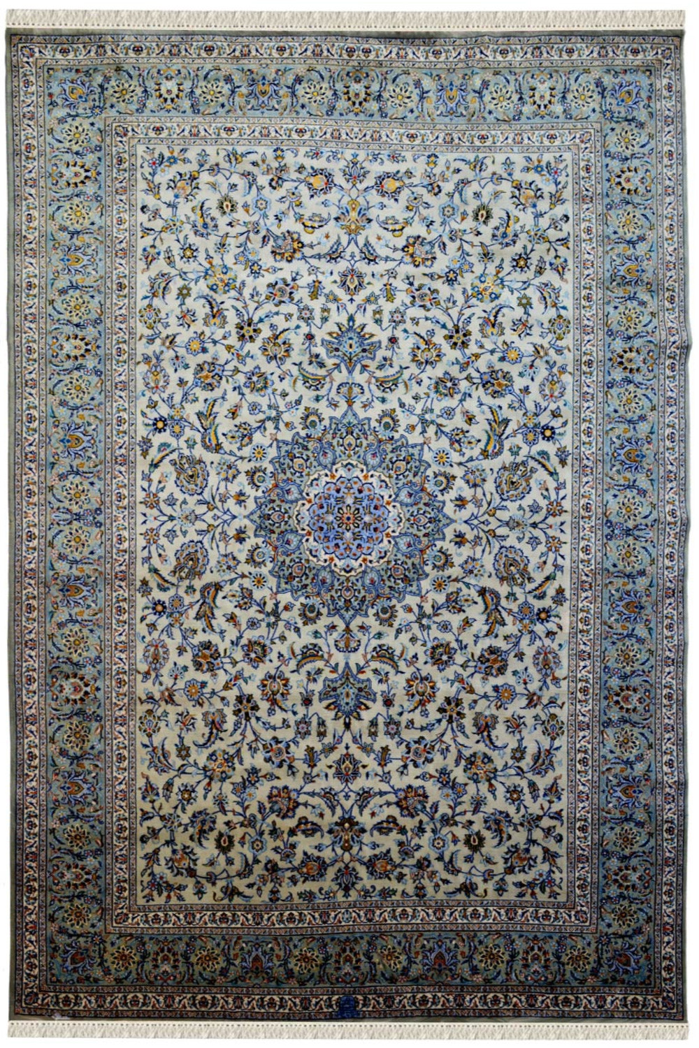 Find Chakra Medallion Kashan Wool Area Rug At Cheap Price