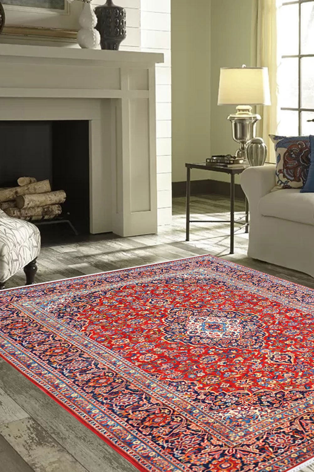 Beautiful Jaali Fleur Kashan Wool Rug Rugs And Beyond
