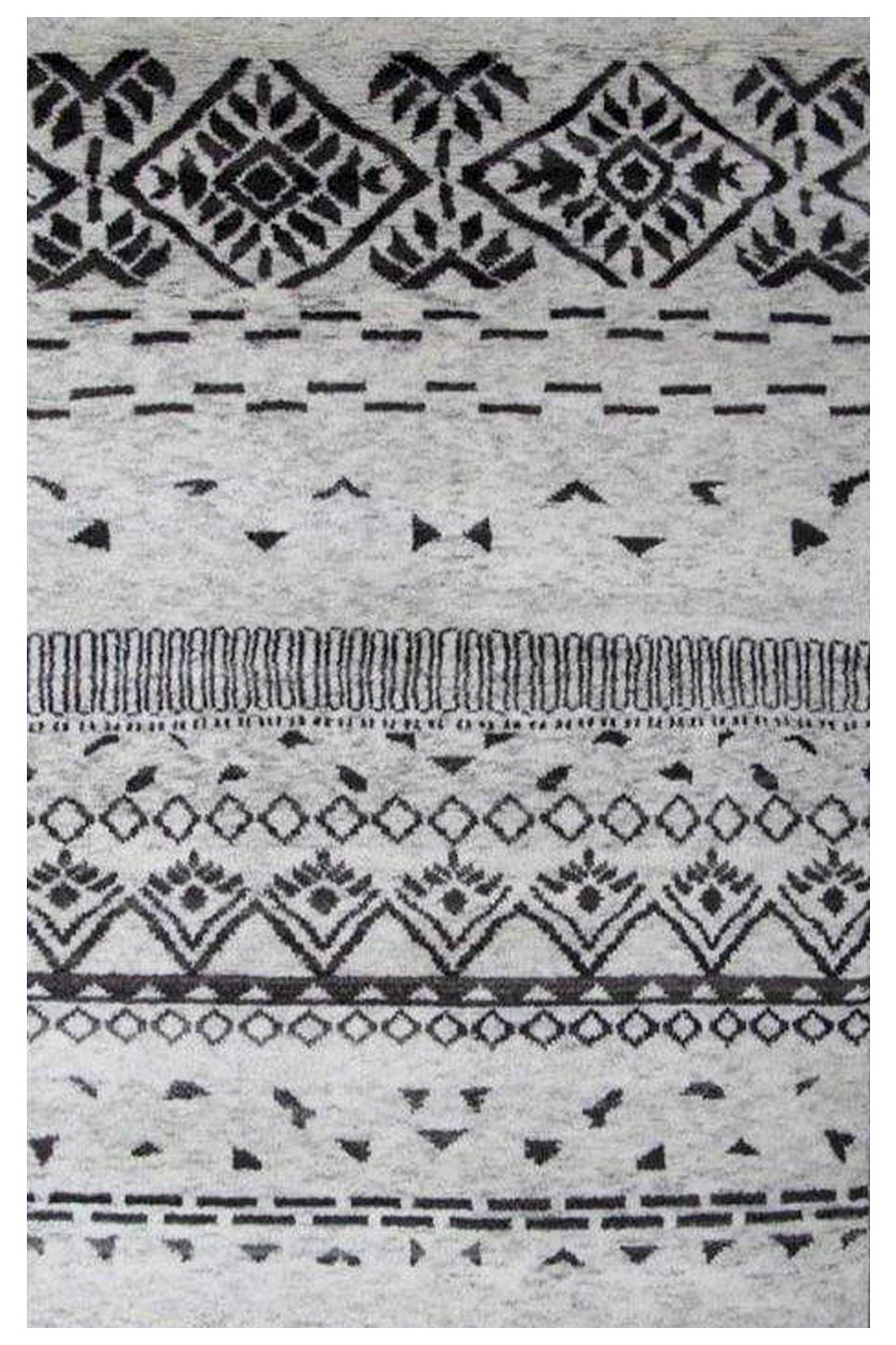 Moroccan Summer Handknotted Wool Carpet ...