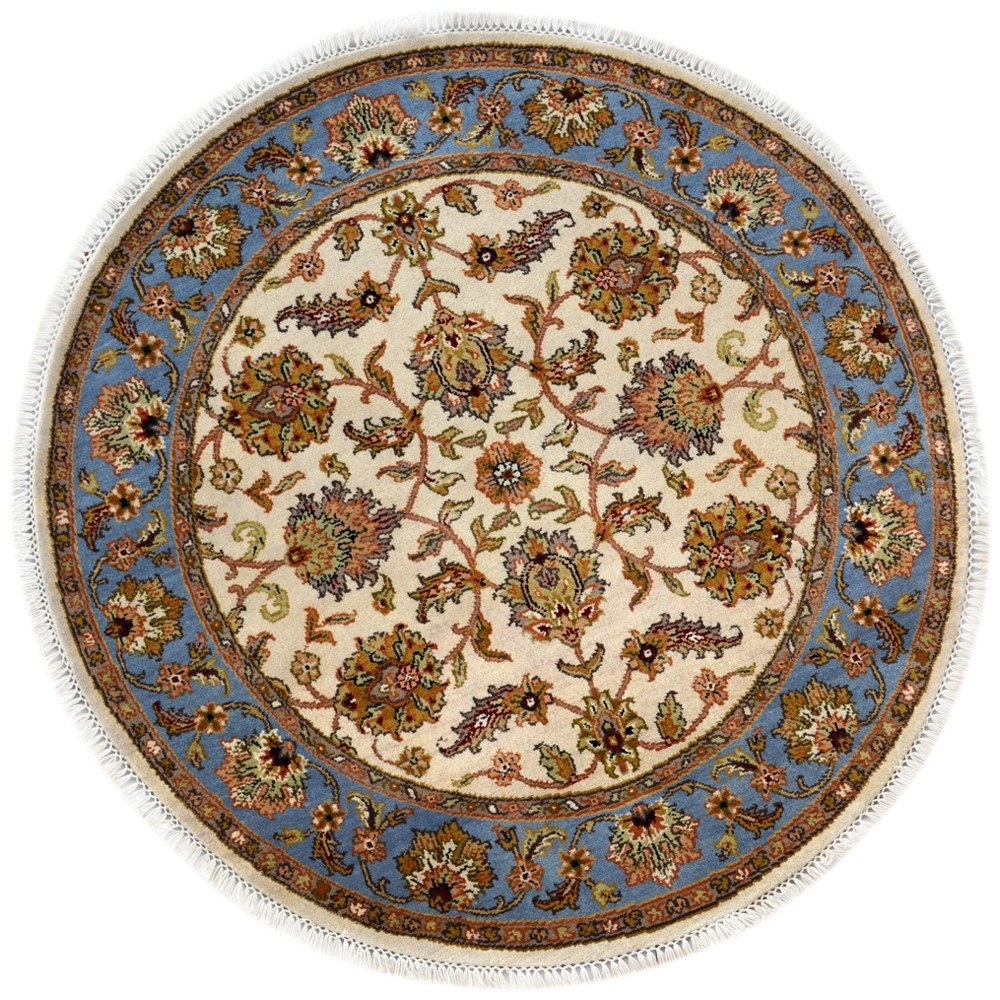 Traditional Floral Pattern Pure Wool Area Rugs And Wool