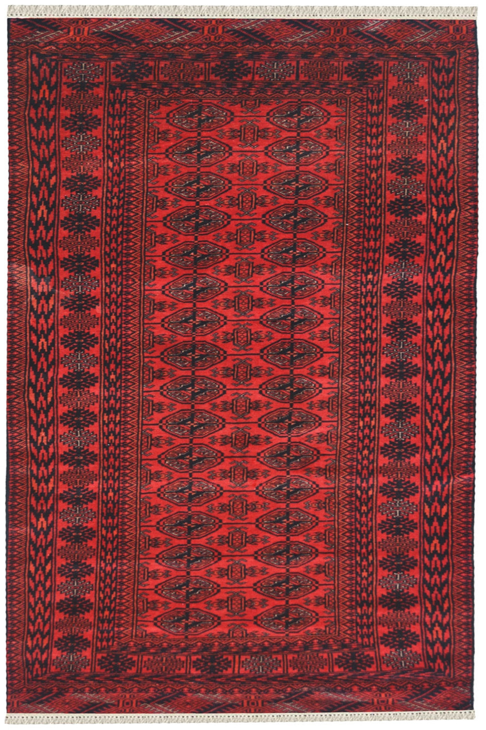 Buy Beautiful Jaali Bukhara Afghan Wool Rugs Online At