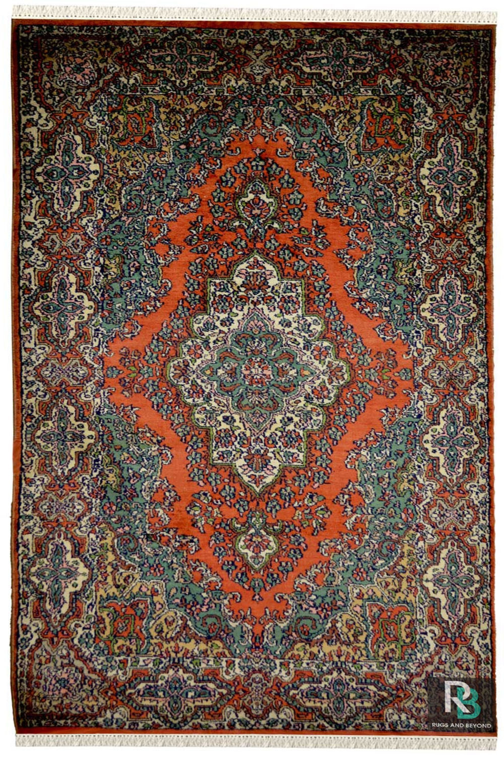 Nain Gulaab Carpet Persian Silk Rugs Online With Best Price