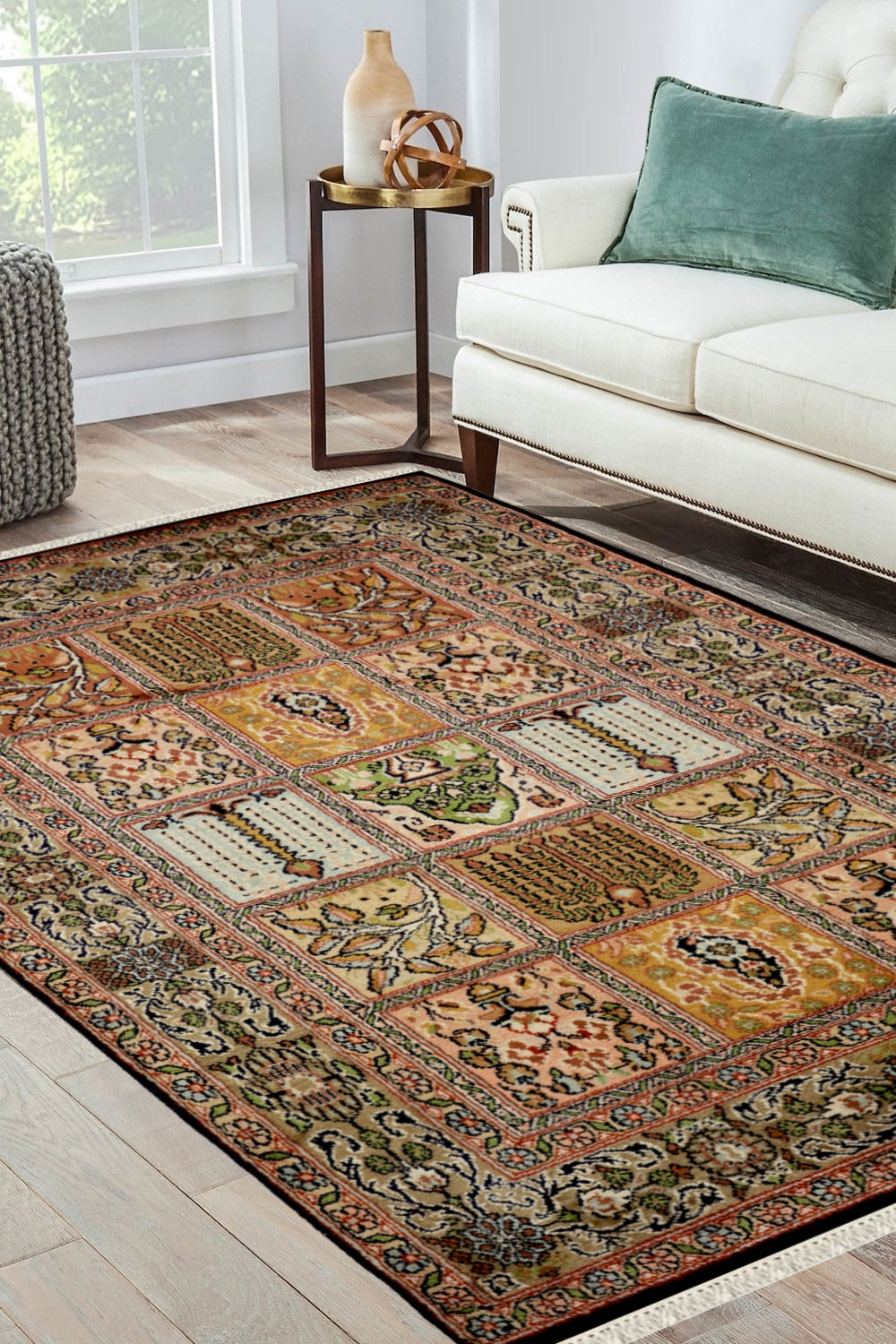 Shop Area Rugs Online And Classic Hamadan Silk Area Rug In