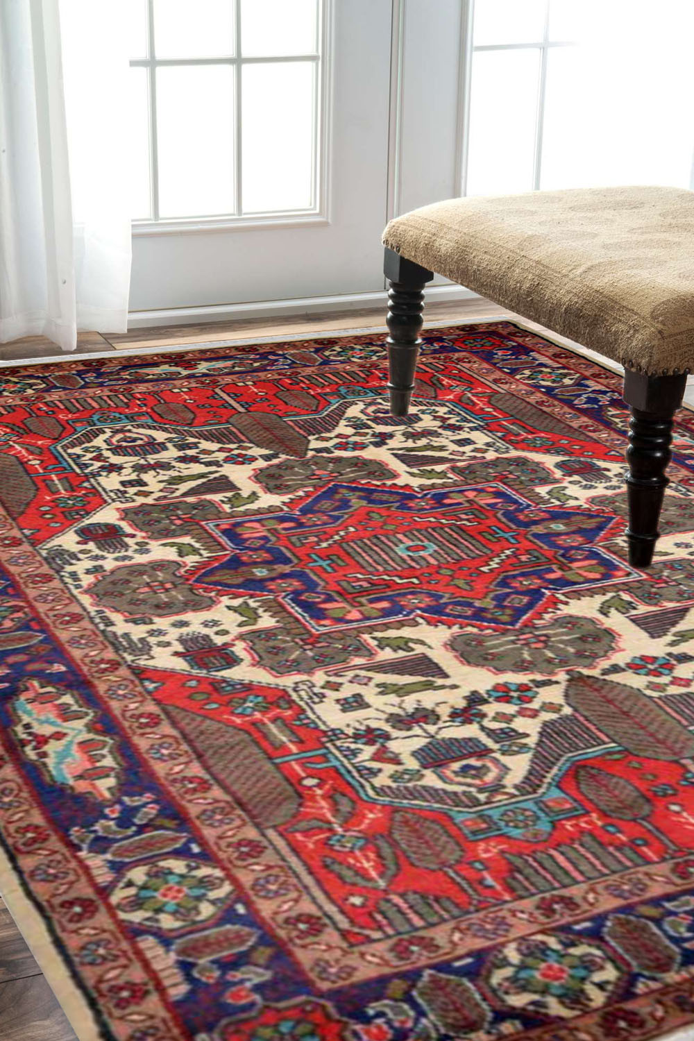 Caucasian Rouge Rug Buy 3 X 5 Small Afghans Rugs