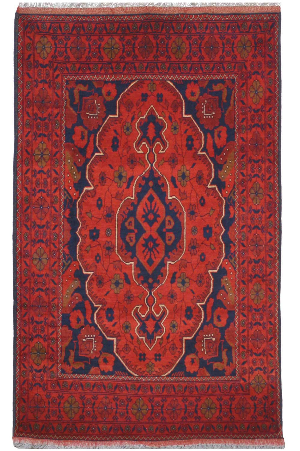 Shop Royal Khan Afghan Rug Online To Give A Royal Look To