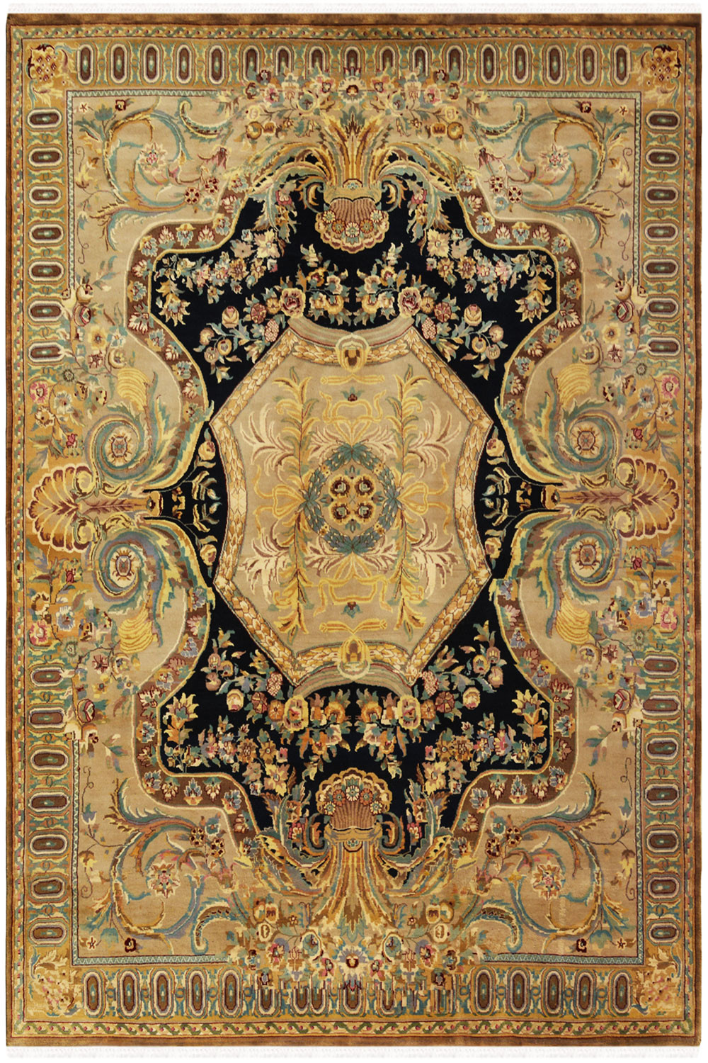 Shop Victorian Abussan Rug Wool Rugs Online In Very Low Price